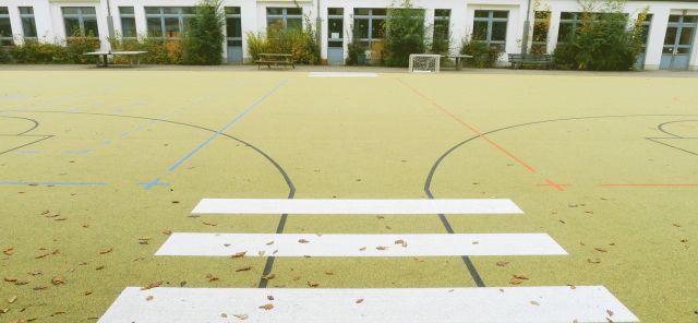 Außenanlage Schule Berlin