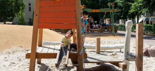 Körner Grube Spielplatz Berlin