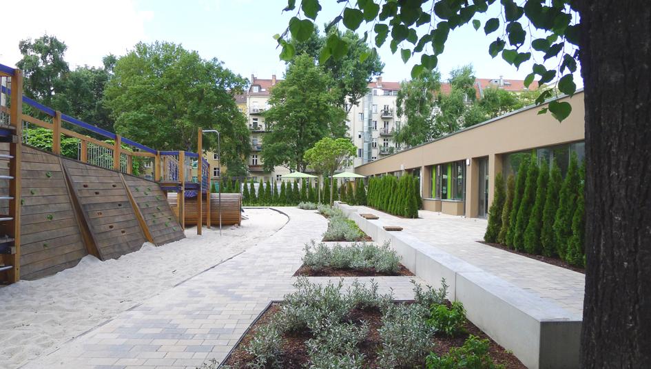 Lechner landschaftsarchitekten st dtische gr nanlagen for Gartenplatz gestaltung